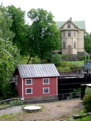 Mill and the residence