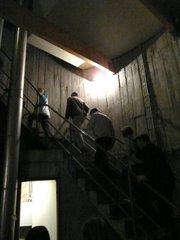 Escalier vers la haut