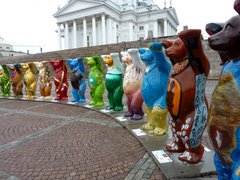 United Buddy Bears sur la place Senaatintori