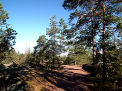 Rajakallio hill on the border of Espoo and Vihti