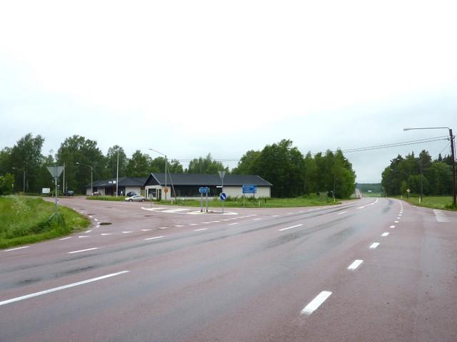 Gottbyn risteys Ahvenanmaan tiellä nro 1