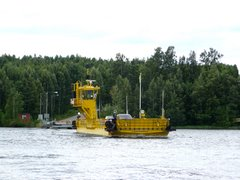 Hätinvirta ferry in Puumala