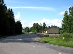 Regional road 409 at Suomenniemi