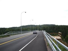 Leppävirta bridge on Regional Road 534