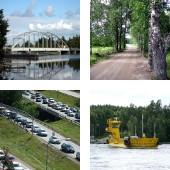 Routes et ponts en Finlande