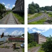 Helsinki harbour railway