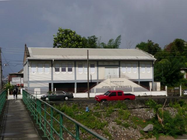 Photos des lieux : roseau : pottersville : église adventiste du