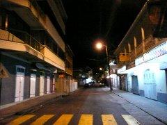 King George V Street dans la nuit