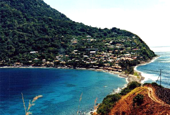 Scotts Head Village, Dominica