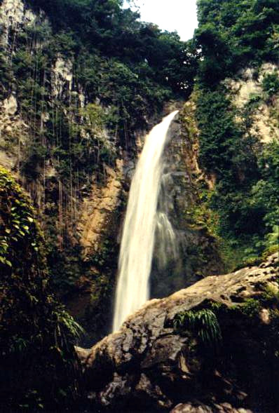 Victoria waterfall, Dominica