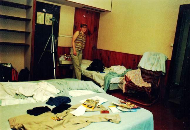 Our room (Hôtel Gommier, Fort-de-France)