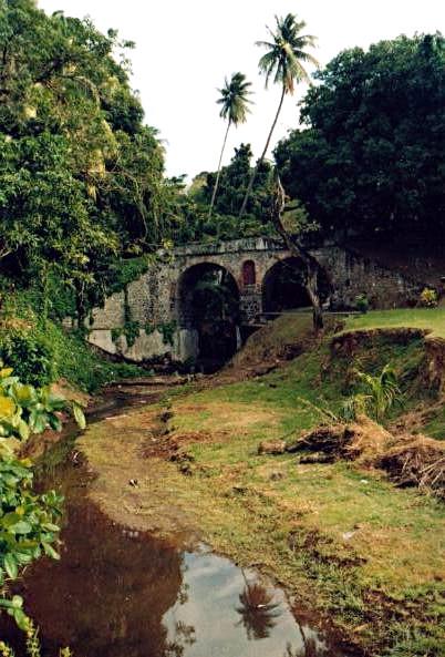A bridge near Saint-Pierre