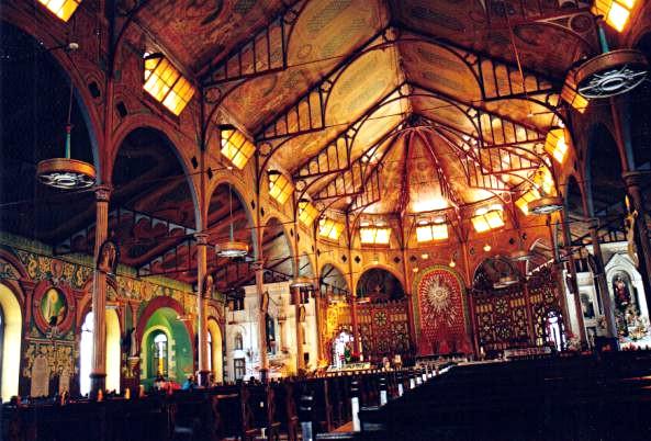 La cathédrale de Castries
