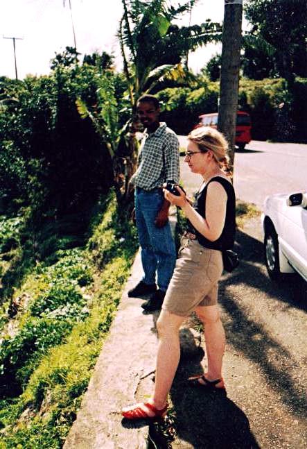 Notre chauffeur de taxi et Tiina