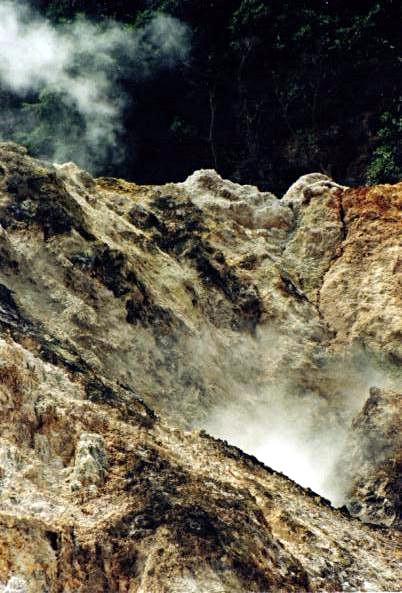 Le volcan, Sainte-Lucie