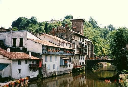 The basque country travel report with photos - Train biarritz to saint jean pied de port ...